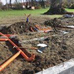 Ležatá kanalizace